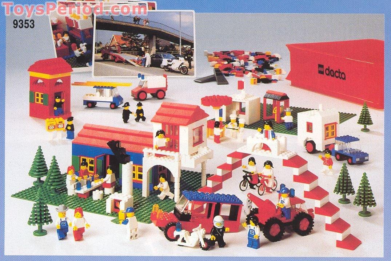 LEGO 9353 Dacta Theme Set Set Parts Inventory and Instructions ...