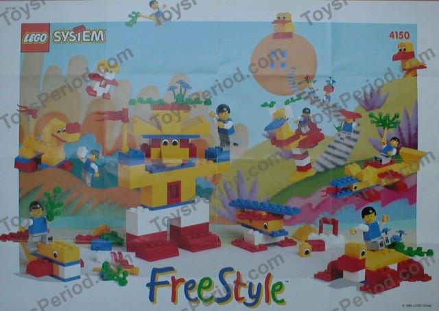 Lego 4150 Freestyle Building Set 5 Plus Set Parts