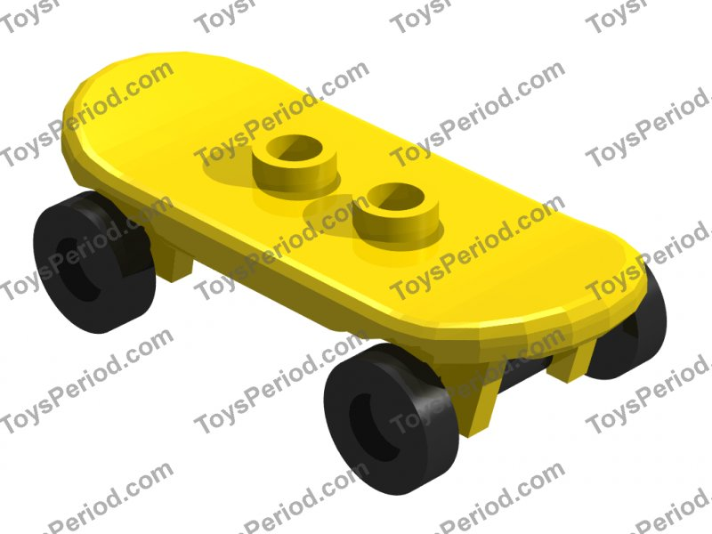 Lego 42511//partie 2496 figurine skateboard avec roues