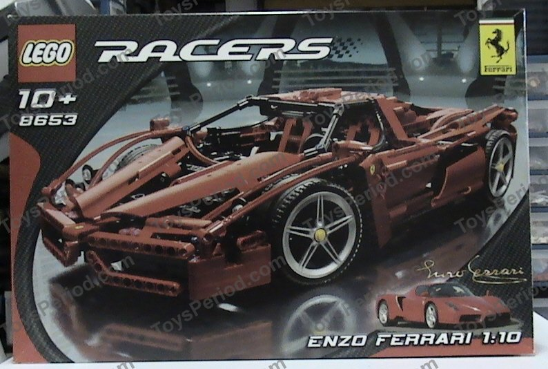 Lego 8653 Enzo Ferrari 110 Set Parts Inventory And Instructions