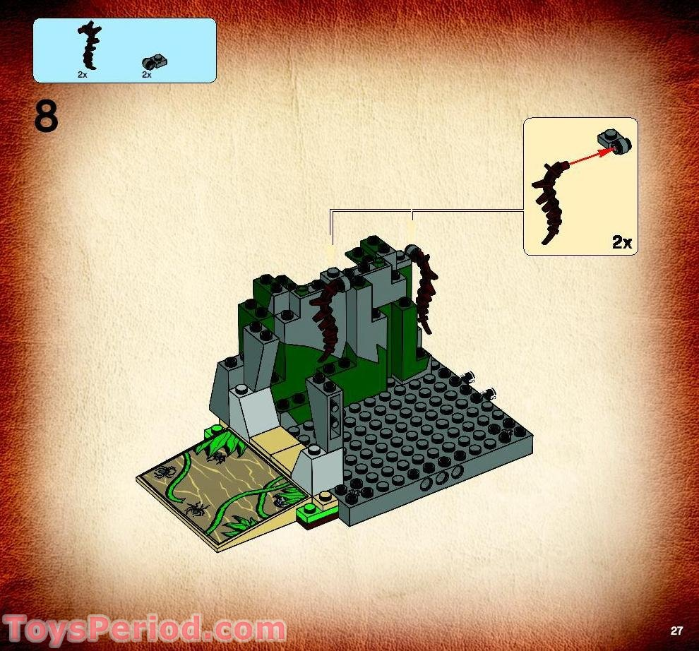 lego indiana jones instructions