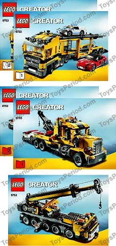 6753 LEGO Creator Highway Transporter
