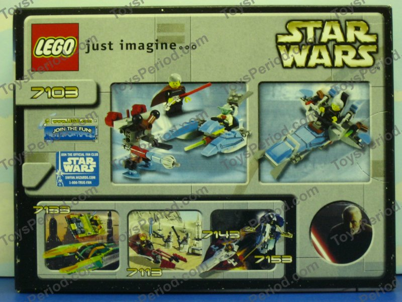 Count Dooku  Red Lightsaber /& Chrome Hilt 7103 Lego Star Wars Minifigure