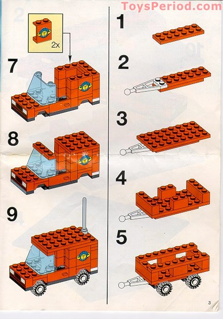 Lego 1879 Large Bucket 5 Plus Set Parts Inventory And