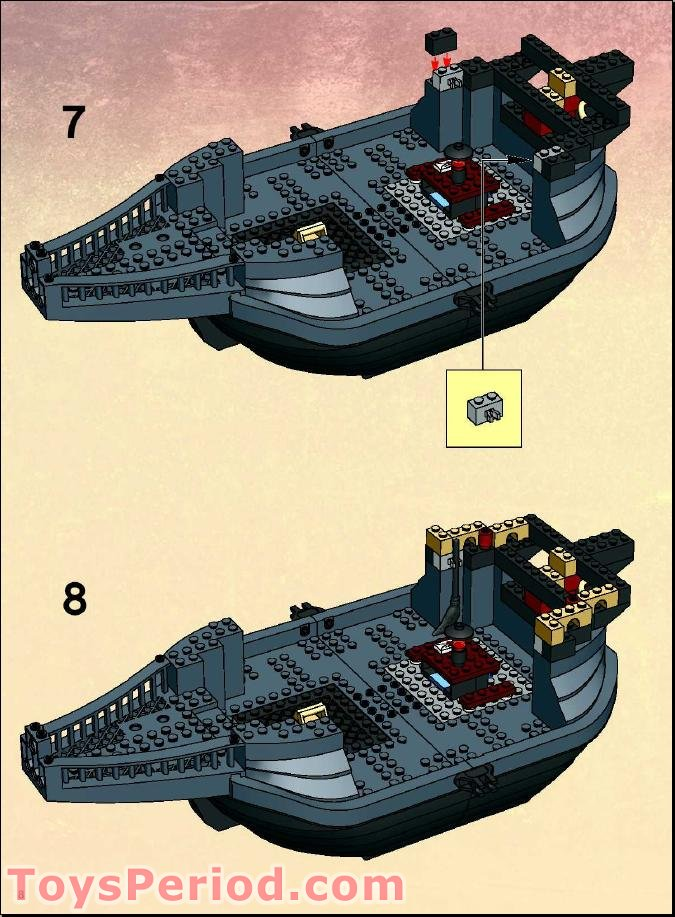 Lego 4768 2 The Durmstrang Ship With Bonus Minifigures Target Exclusive Set Parts Inventory And Instructions Lego Reference Guide Et cela ne te prendra que 3 minutes environ ! lego 4768 2 the durmstrang ship with