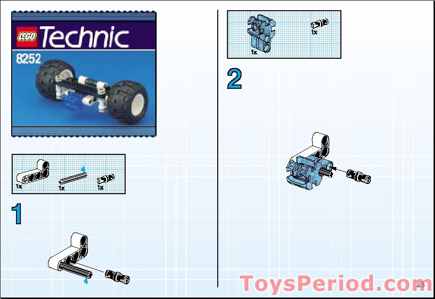 lego technic police interceptor instructions