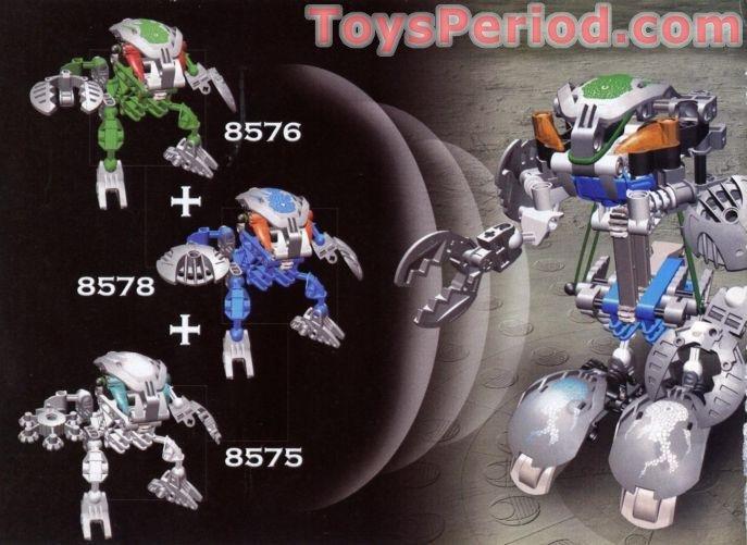 LEGO 8578 Gahlok-Kal Set Parts Inventory and Instructions - LEGO ...