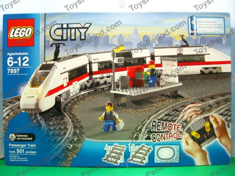Town Theme Sets Lego 7897 Passenger Train New Misb City Rc Train