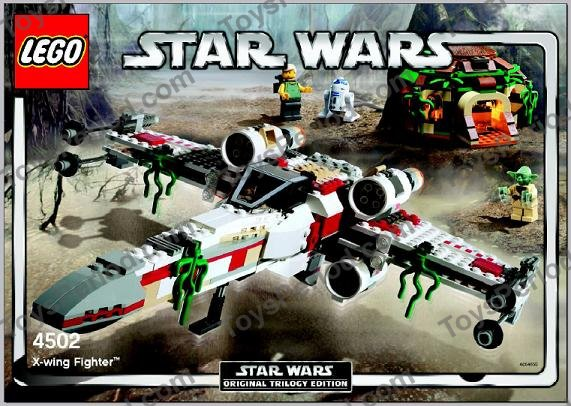 LEGO 4502 X-Wing Fighter Classic Star Wars Dagobah Yoda New Image ...