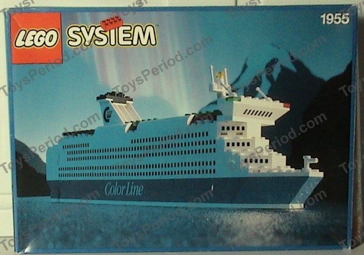 how to build a lego cruise ship