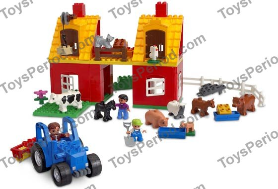 Lego 4665 Big Farm Set Parts Inventory And Instructions Lego