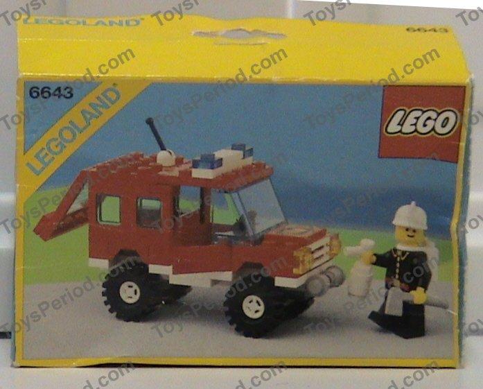 lego fire truck 4977 instructions