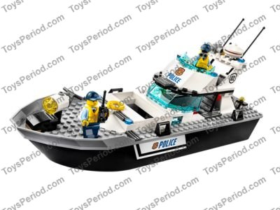 lego police patrol boat instructions