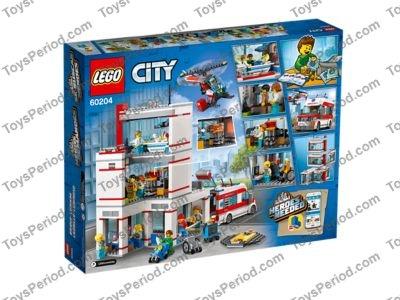 LEGO 10 x Torso Hospital EMT Star of Life Doctor Body Minifig Minifigure