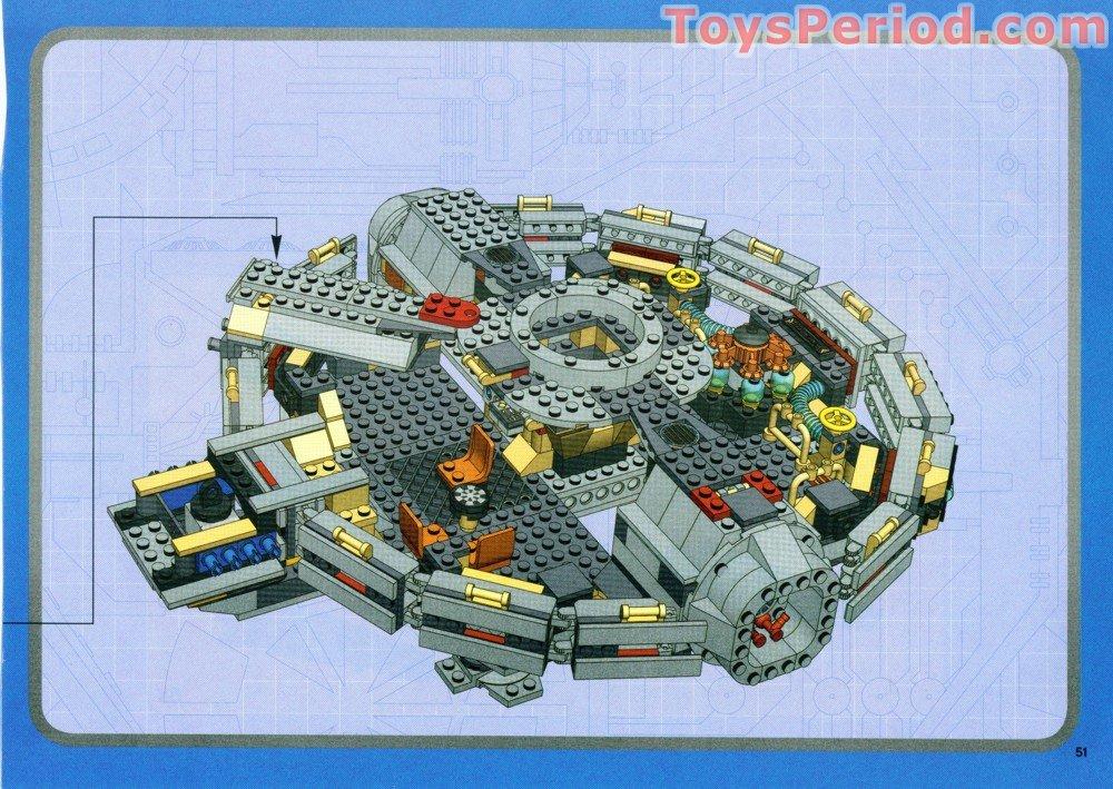 Lego 4504 2 Millennium Falcon Redesign Original Trilogy Edition