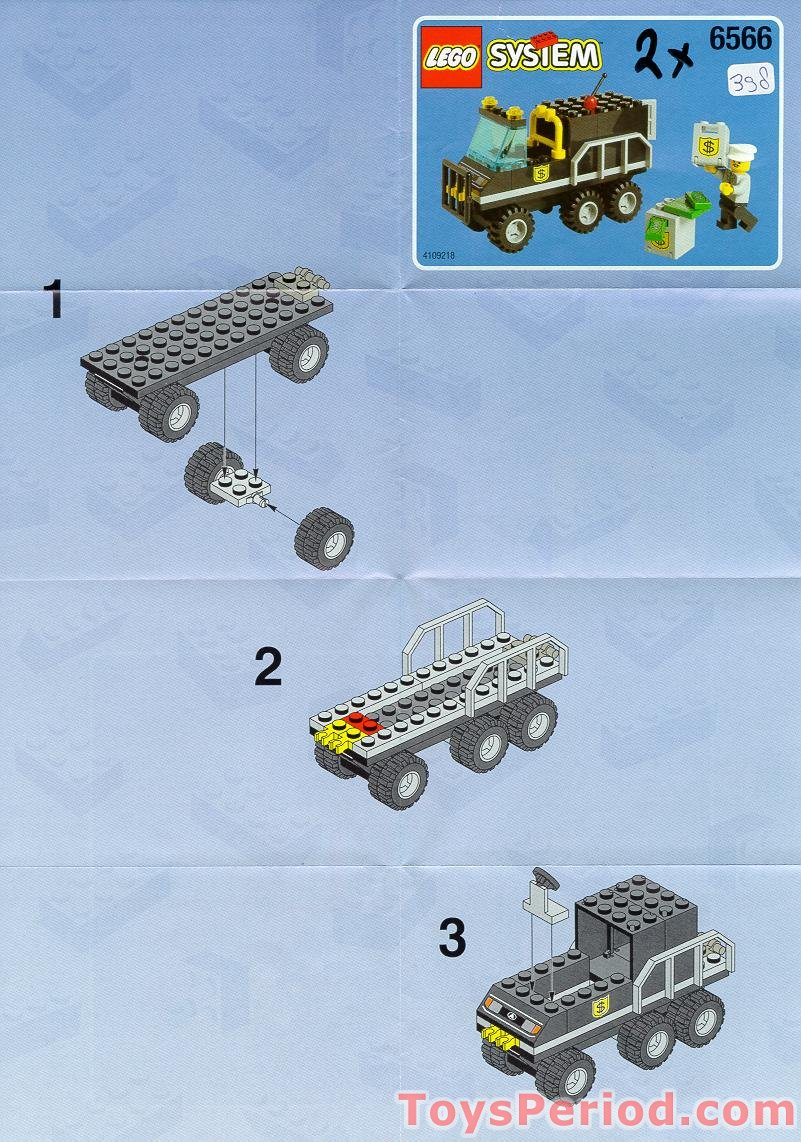 Lego 6566 Bank Set Parts Inventory And Instructions Lego