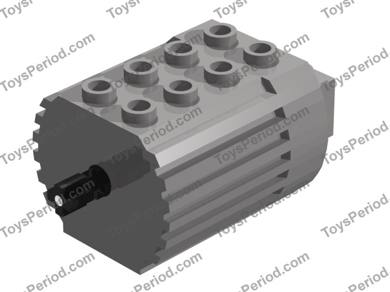 Picture Of Lego Part 6216m Electric Technic Motor 4 5v