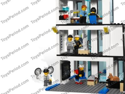 Lego 7498 Police Station Set Parts Inventory And Instructions Lego