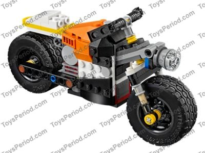 Lego 31059 Sunset Street Bike Set Parts Inventory And Instructions