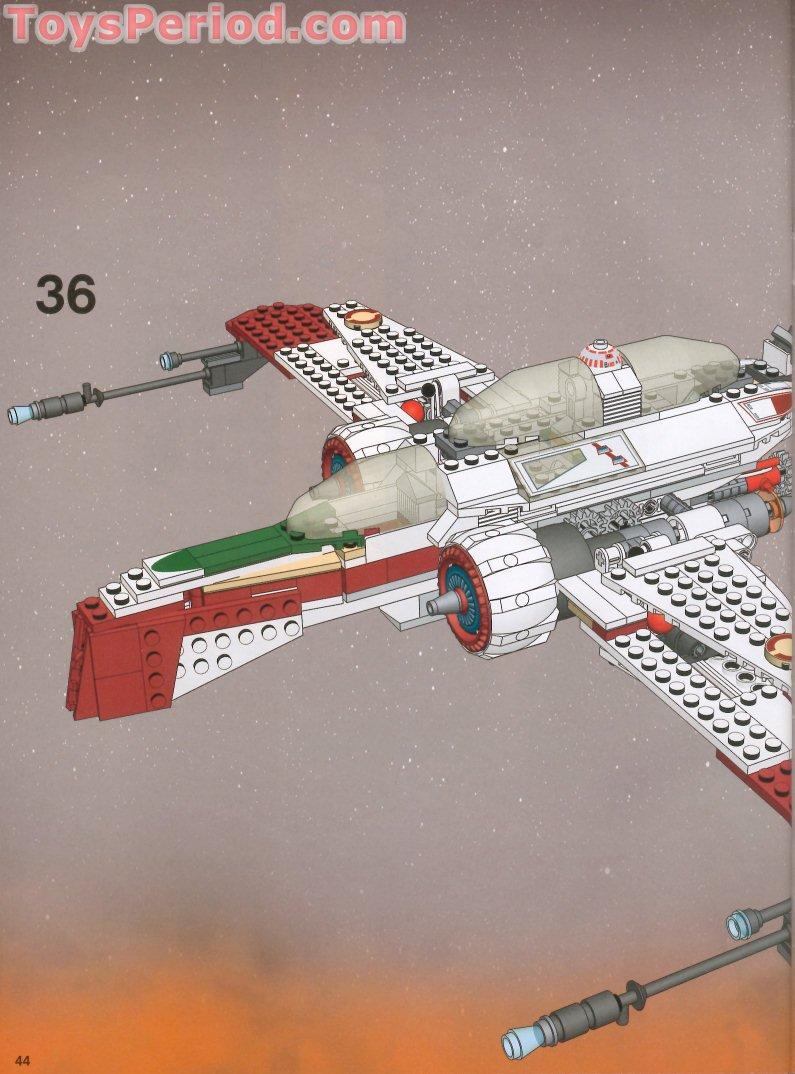 LEGO STAR WARS Slope bricks ref 3939px1 /& 3939px2 Set 7259 ARC-170 Starfighter