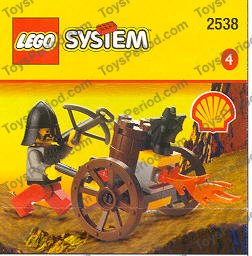 Lego Castle Minifigure Items 4 Sets of Black Cannon Spoked Wheels Axle Plates