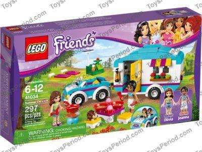 Lego 41034 Summer Caravan Set Parts Inventory And Instructions