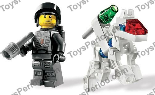 LEGO 8399 K-9 Bot Set Parts Inventory And Instructions