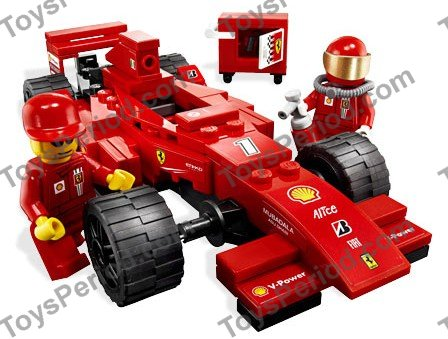 lego 8185 ferrari f1 cargo truck set parts inventory and instructions lego reference guide. Black Bedroom Furniture Sets. Home Design Ideas