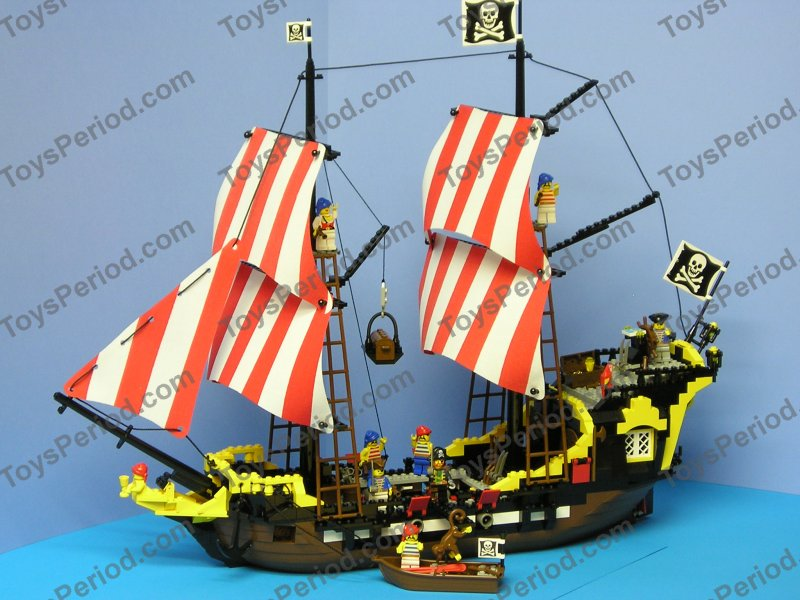 Pirate Theme Sets Lego 6285 Black Seas Barracuda Pirate Ship
