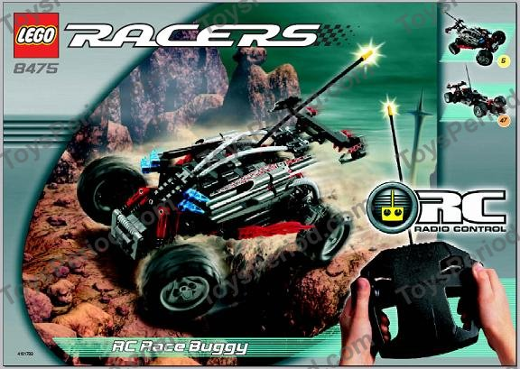 Lego 8475 Rc Race Buggy Set Parts Inventory And