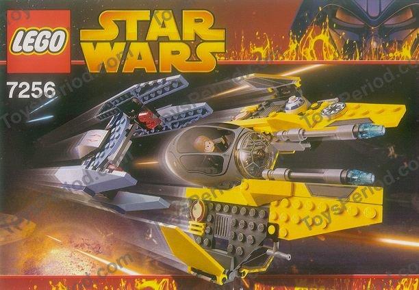 lego anakin starfighter instructions