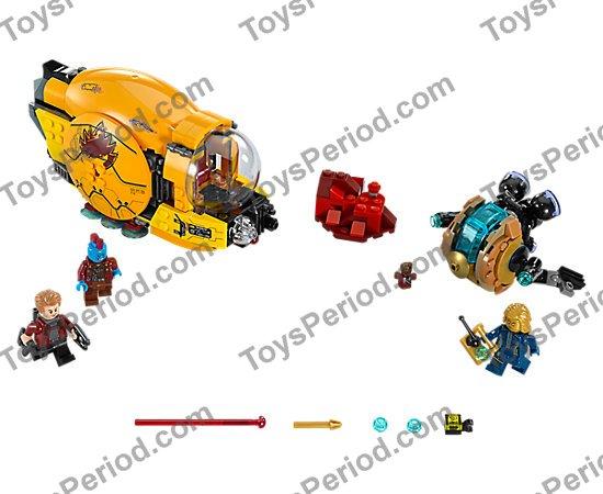 LEGO 76079 Guardians of The Galaxy Volume II Set