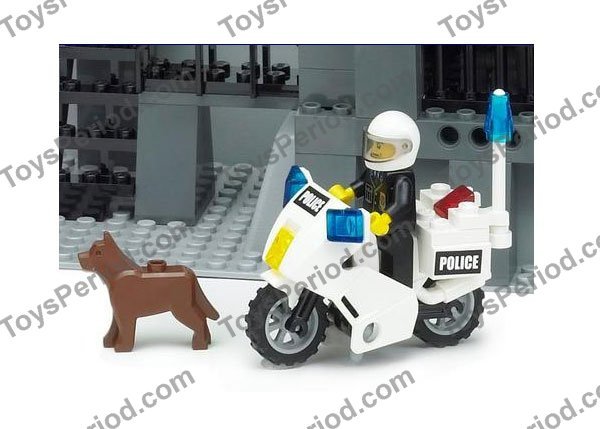 LEGO 7237-1 Police Station - with Light-Up Minifig Set Parts