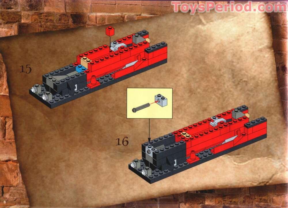 Lego 4708 Hogwarts Express Set Parts Inventory And Instructions