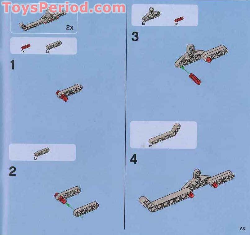 lego technic snowmobile instructions