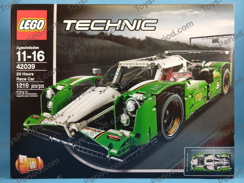 Genuine LEGO Sticker Sheet Technic 42039 24 Hours Race Car 19095