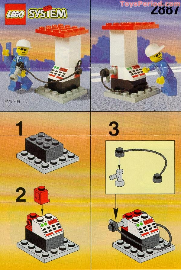 how to build a lego gas mask