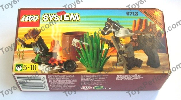 LEGO 6712 Sheriff's Showdown Set Parts Inventory and