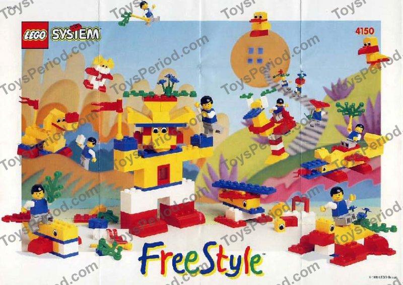 Lego 4150 freestyle building set 5 plus set parts - Plus belle construction lego ...