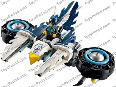 LEGO 70007 Chima Eglor /& Razcal Minifigure Lot of 2