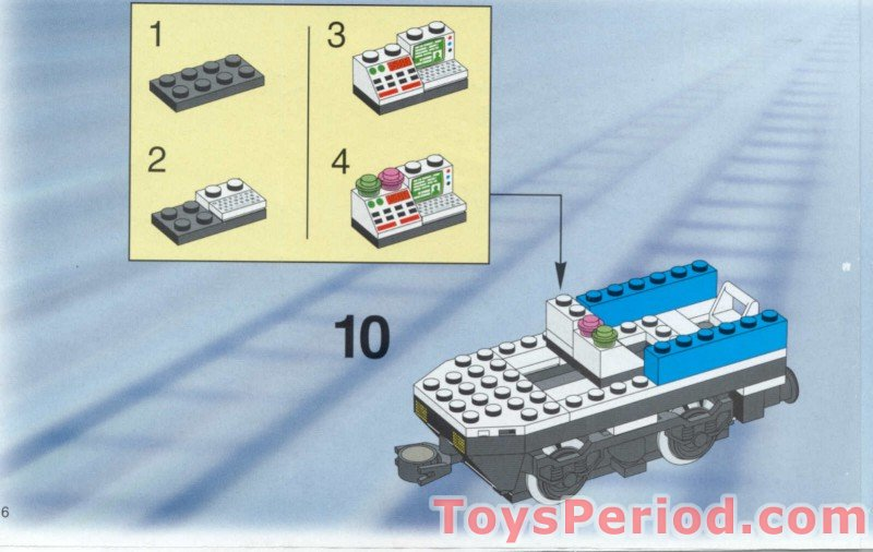 LEGO 4561 Railway Express with Transformer and Speed
