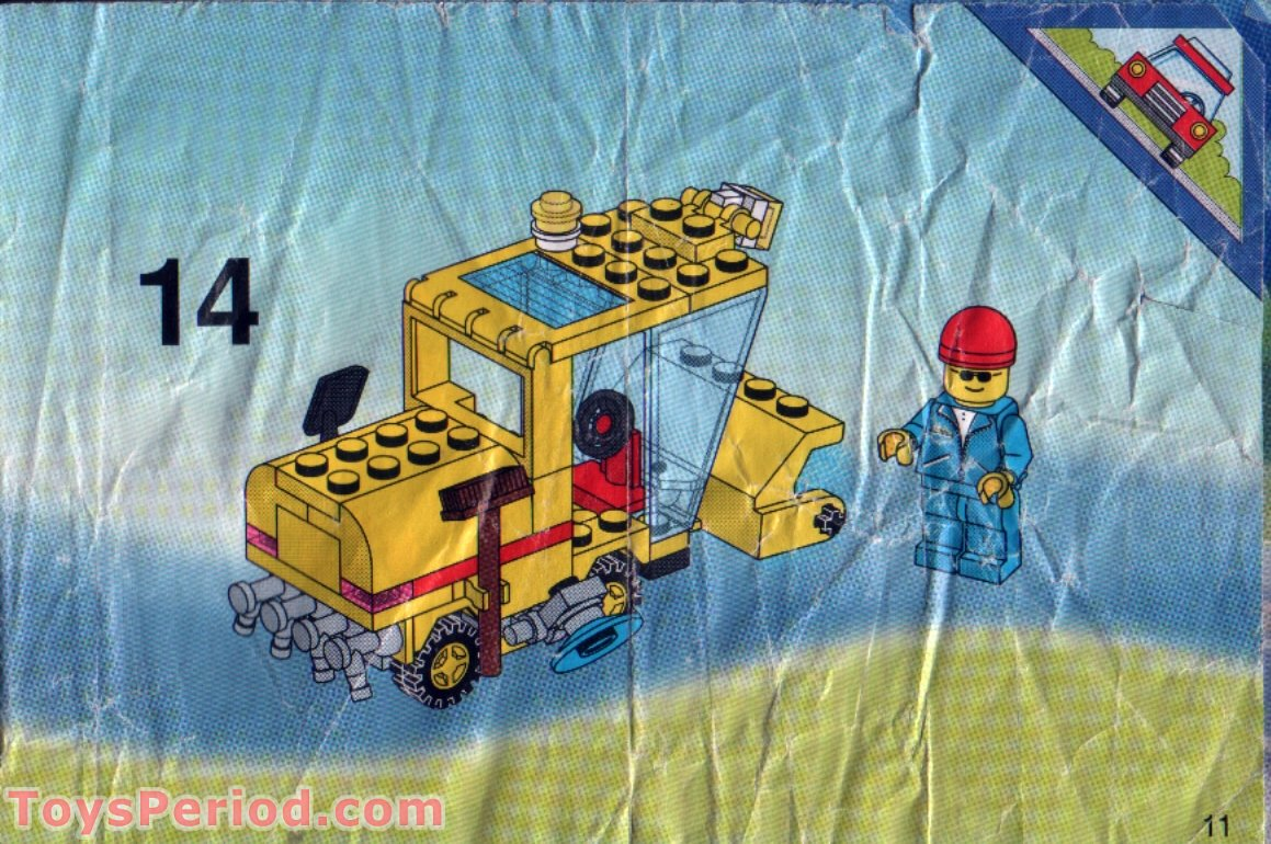 Lego 6649 Street Sweeper Set Parts Inventory And