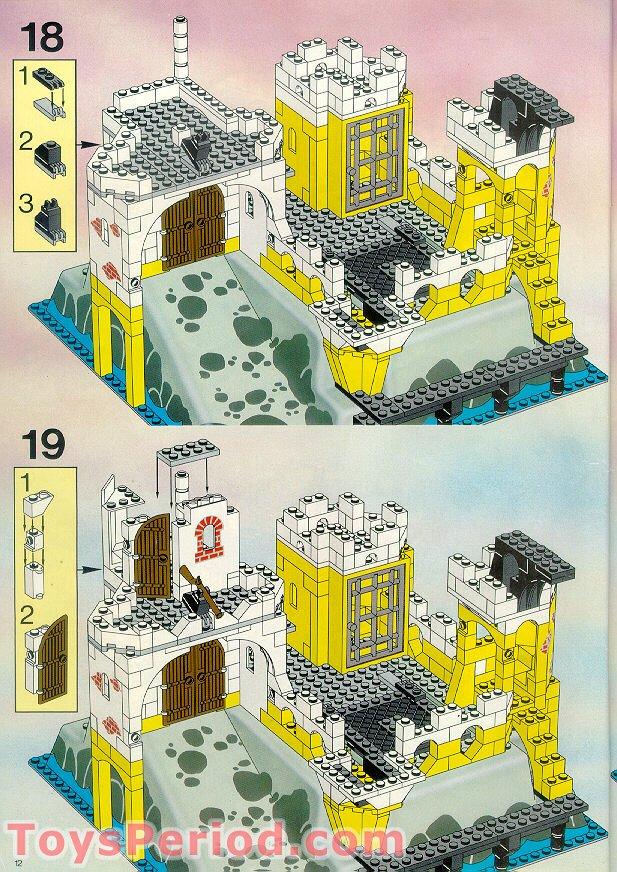 LEGO 6276 Eldorado Fortress Set Parts Inventory and ... Rare Pokemon Cards Black And White