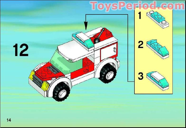 Lego City Doctors Car