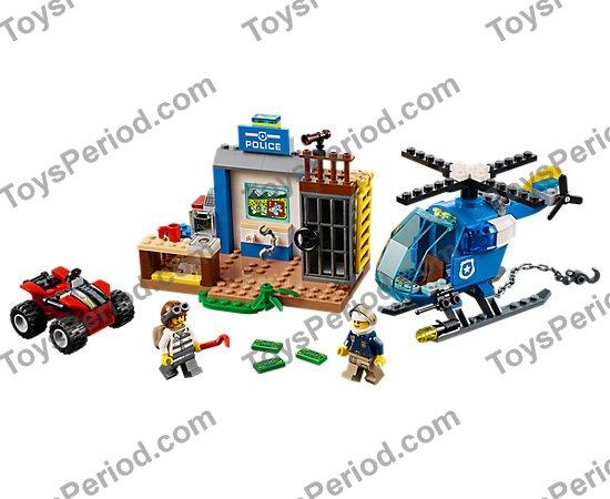 LEGO NEW MINIFIGURE TORSO JAIL BREAK CRIMINAL STRIPED SHIRT MINIFIG BODY PART