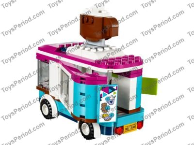 Lego 41319 Snow Resort Hot Chocolate Van Set Parts Inventory And