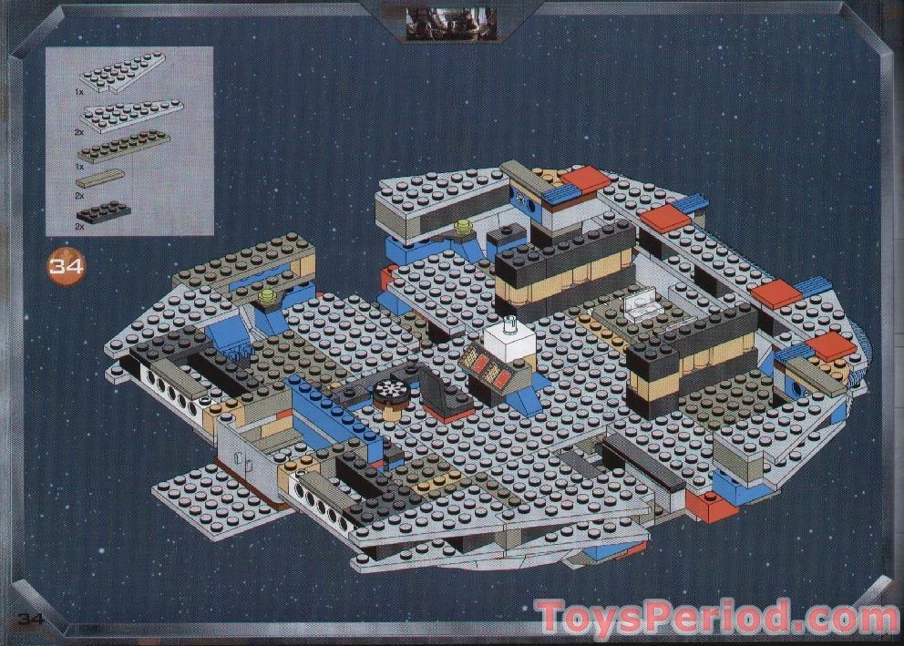 lego instructions millenium falcon