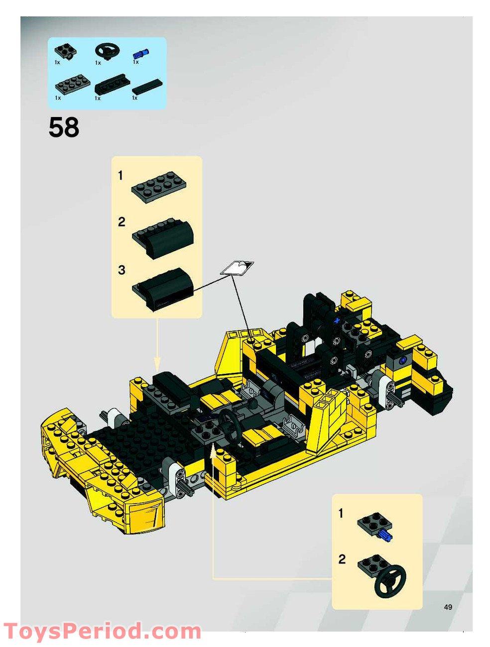 how to build a lego lamborghini instructions