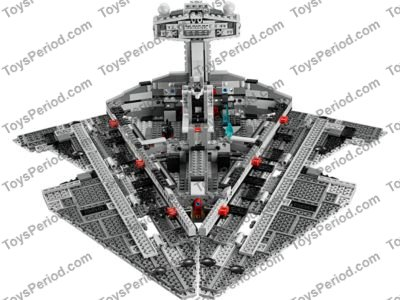 Lego 75055 Imperial Star Destroyer Set Parts Inventory And