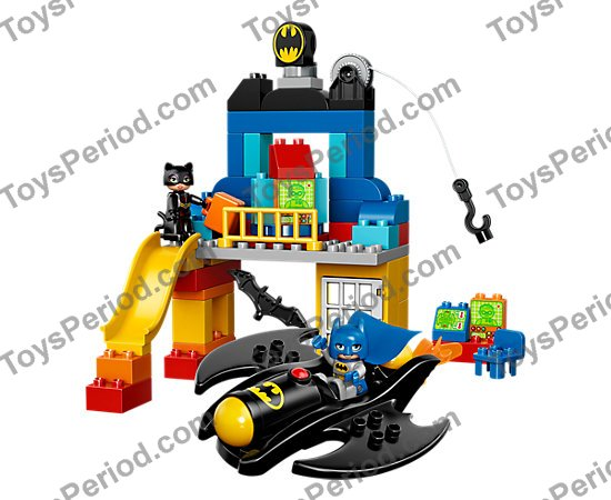 LEGO 10545 Batcave Adventure Set Parts Inventory and Instructions ...